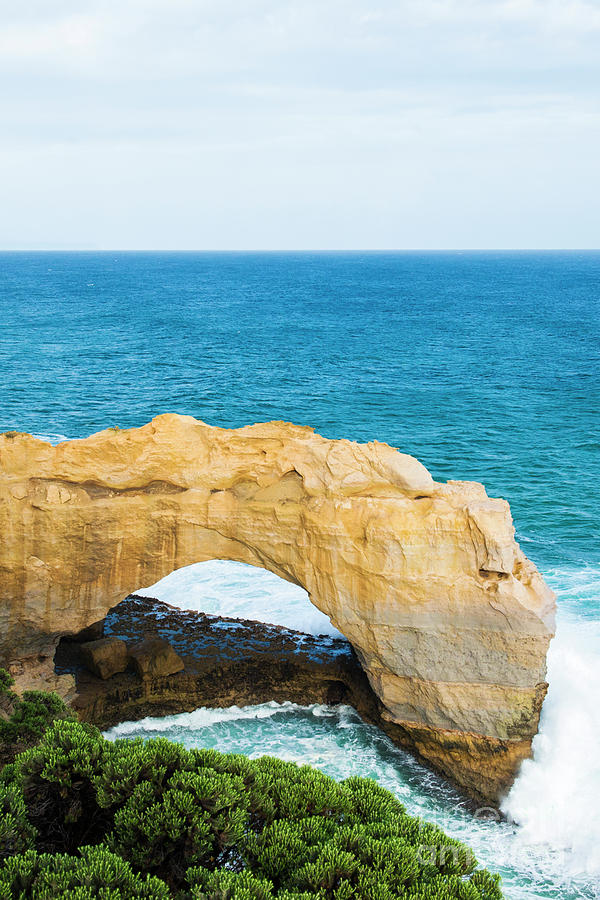 Arch Photograph - The Arch At Port Campbell National Park by Rob D