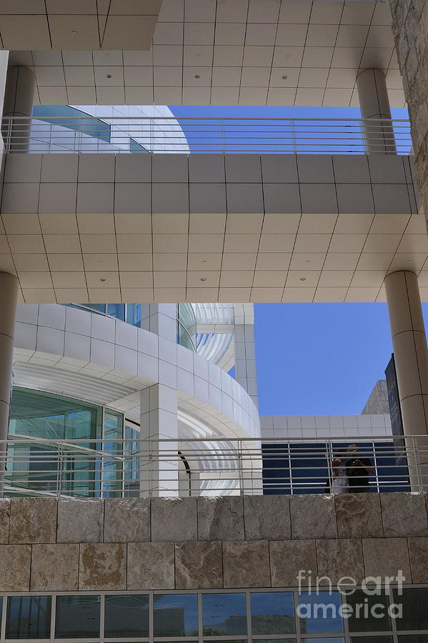 Clay Photograph - The Getty by Clayton Bruster