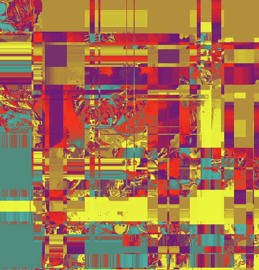 Abstract Digital Art - 4 U 328 by John Saunders