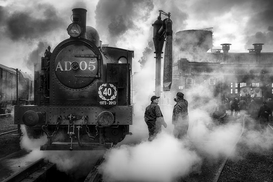 Steam Photograph - Untitled 4 by Herion Jean-claude