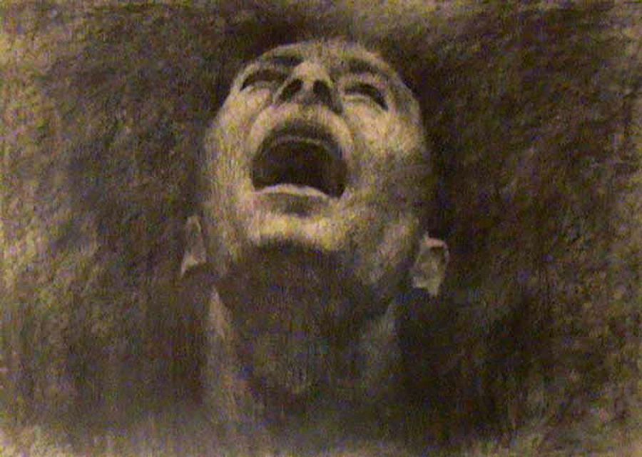 Charcoal Drawing - Untitled by Ioulia Sotiriou