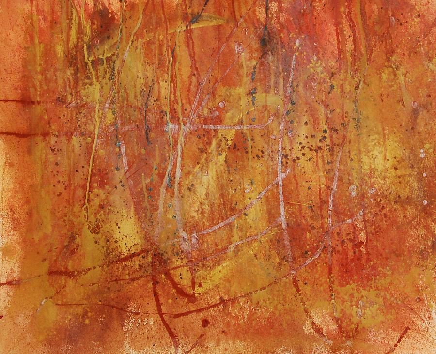Abstract Painting - Untitled by Lauren Luna