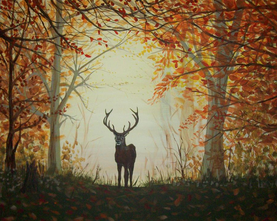 Animals Painting - Untitled by Lori Ulatowski