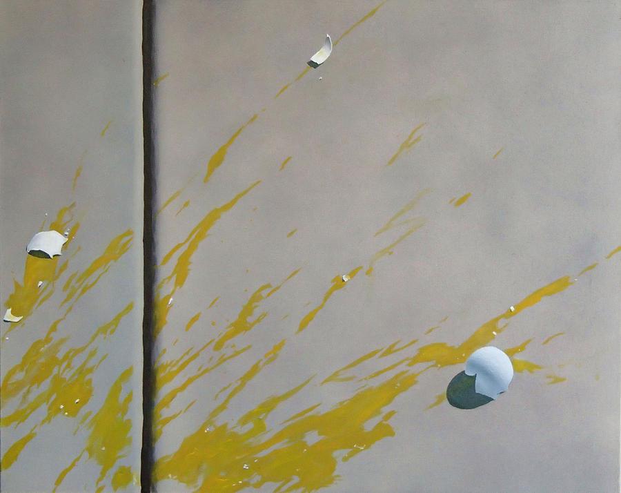 Street Scene Painting - Untitled 5 by Philip Fleischer