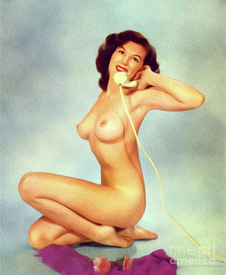 pin up nude vintage