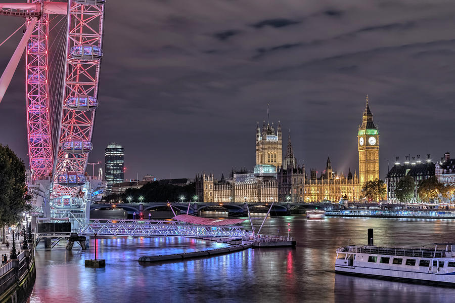 Westminster Photograph - Westminster - London by Joana Kruse