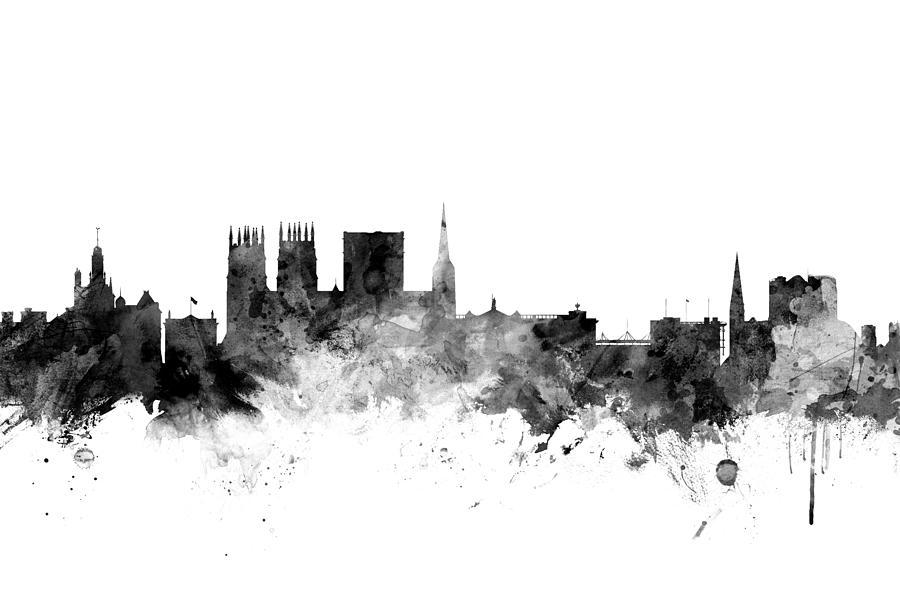 London Skyline Framed Pictures
