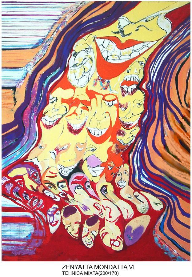 Zen Painting - Zenyatta Mondatta by Noemi Kusztos