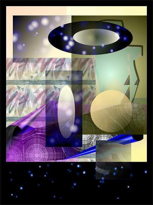 Fantasy Print - Spirit II by Patricia High
