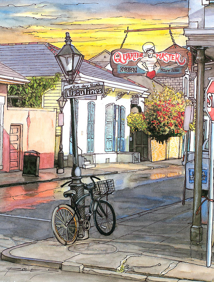New Orleans Painting - 42 by John Boles