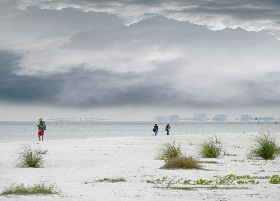 Beachcombers Photograph - 4227 by Peter Holme III