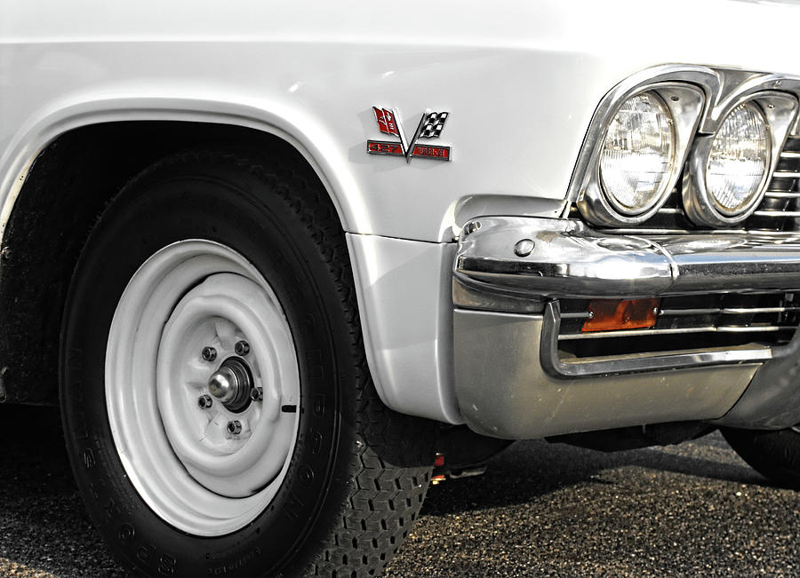 Chevy Photograph - 427 by Kristie  Bonnewell