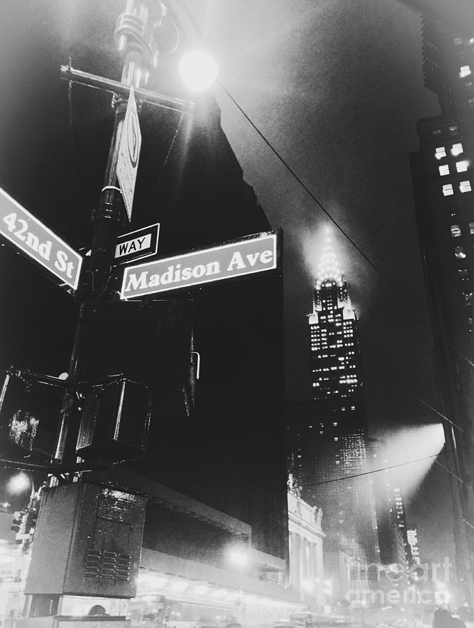 Madison Avenue Photograph - 42nd And Madison by Angelo Merluccio