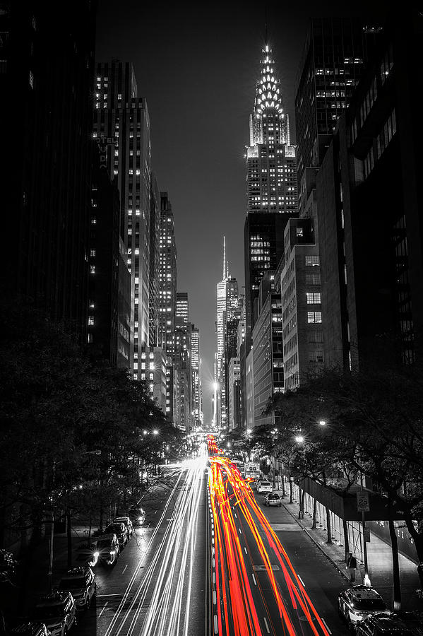 Nyc Photograph - 42nd Street Nyc by Lorrie Joaus