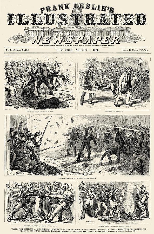 great railroad strike of 1877