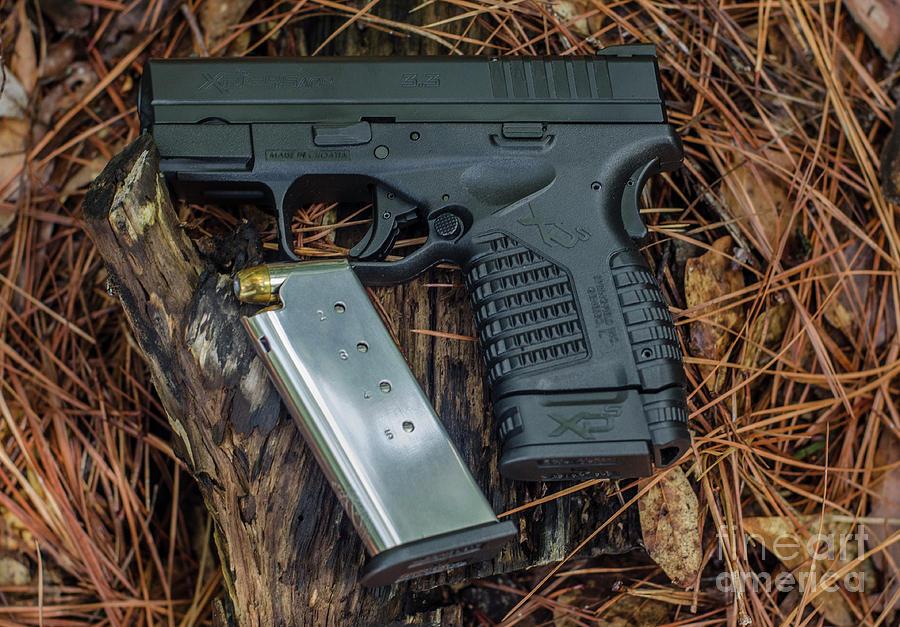 45 Acp Carry Gun Photograph