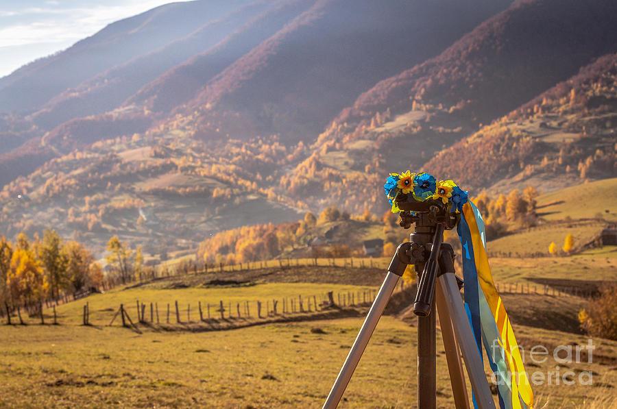 Autumn Photograph - Land Of Ukraine by Lyudmila Prokopenko