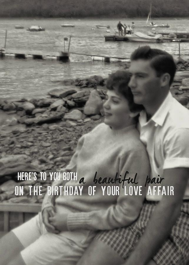 Vintage Photograph - 45 Years Quote by JAMART Photography