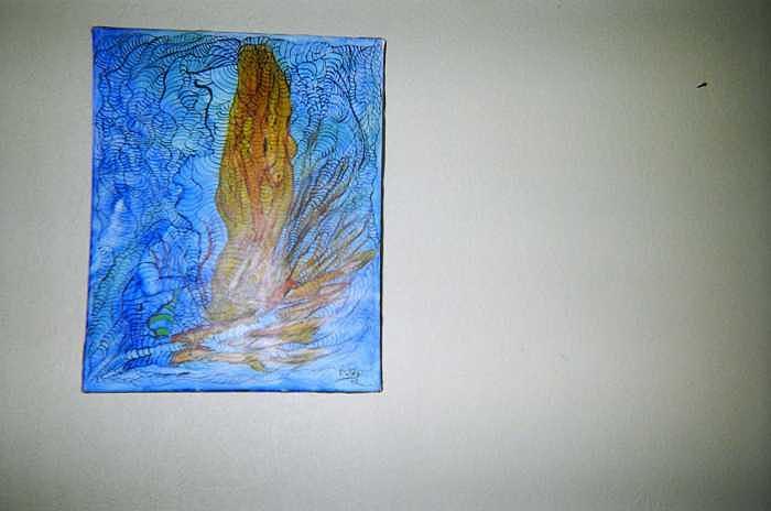 Consentracion Painting by Enrique Gonzalez