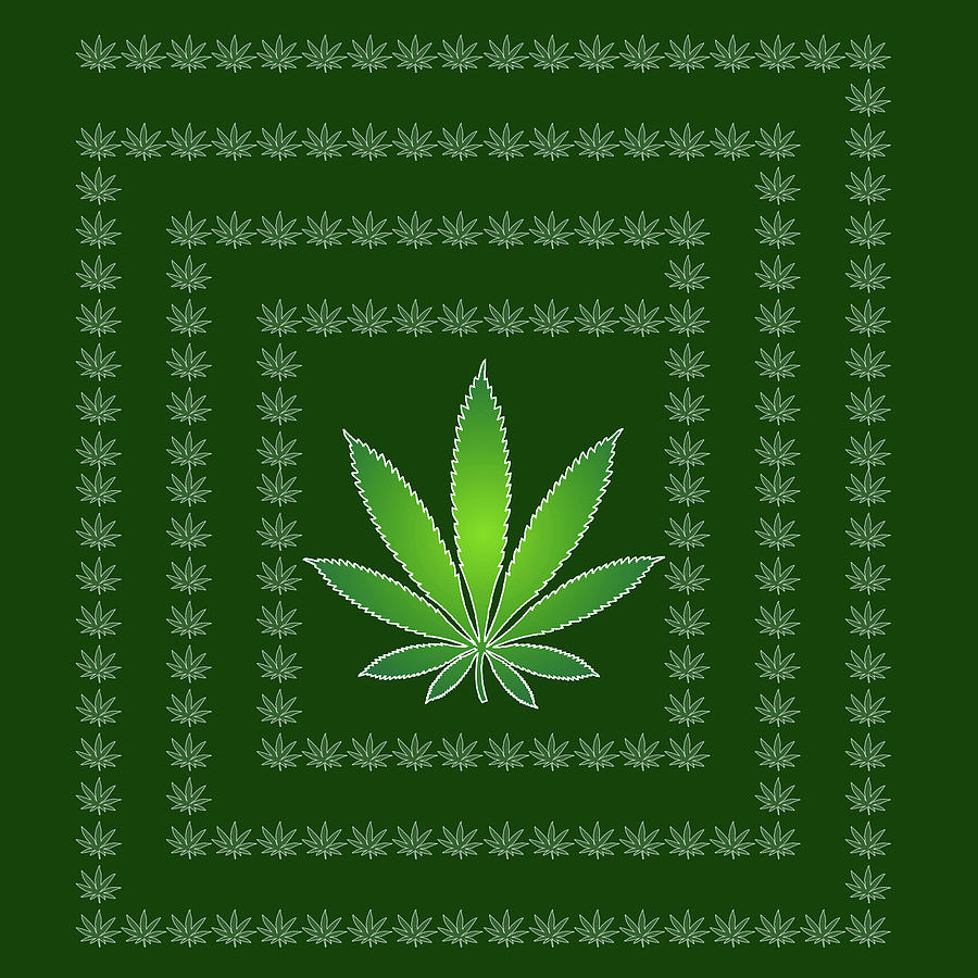 Weed Digital Art - 46 by Larry Waitz