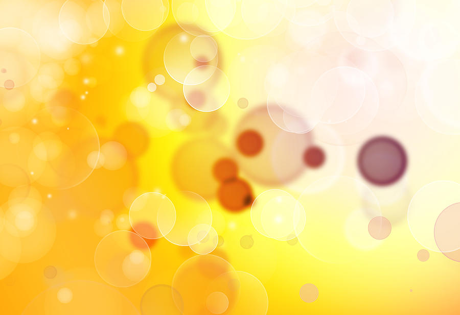 Bright Lights Digital Art - Abstract Background by Les Cunliffe