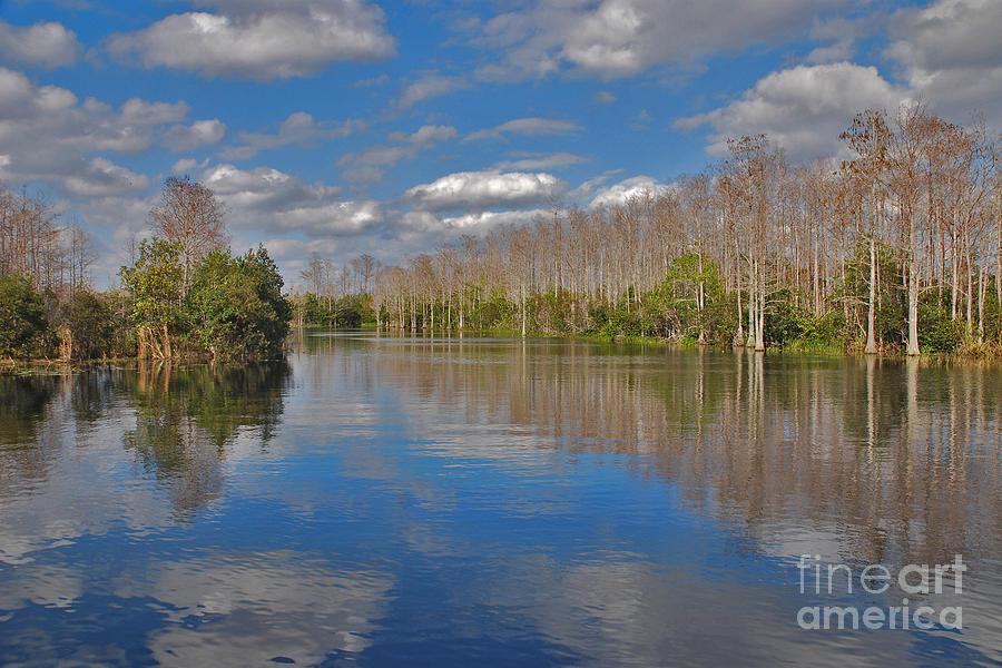 Everglades Photograph - 47- Everglades Serenity by Joseph Keane