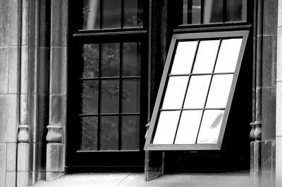 Window Photograph - Untitled 497 by Eduardo Hugo