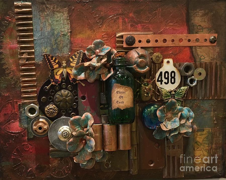 Steampunk Mixed Media - 498 by Marcia Hero