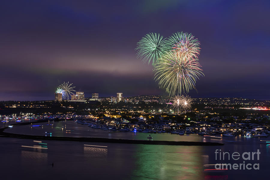 4th Photograph - 4th Of July Fireworks by Eddie Yerkish