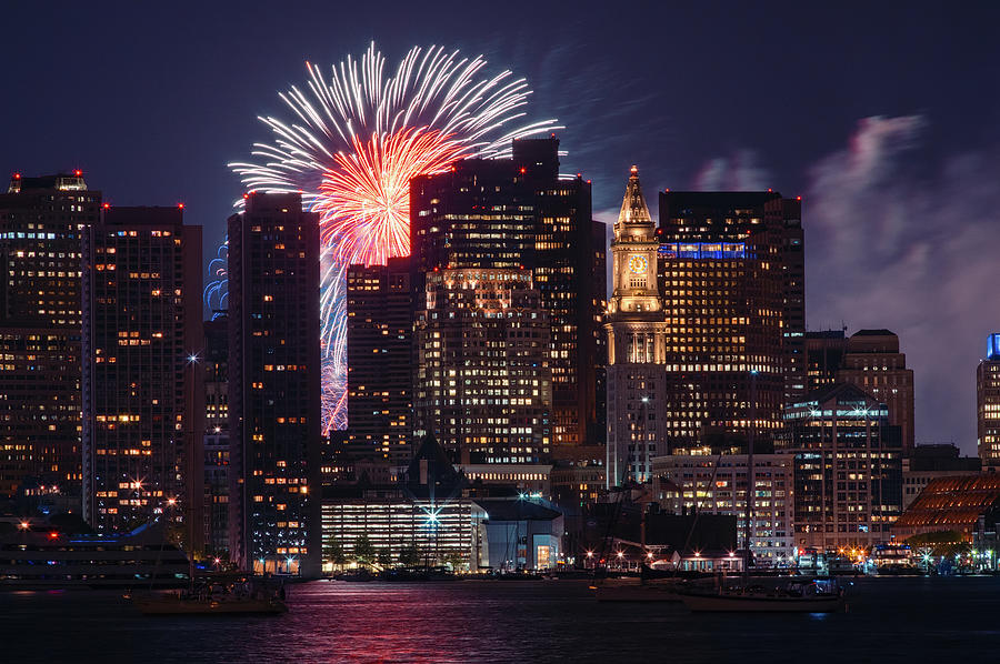 4th Of July In Boston Photograph