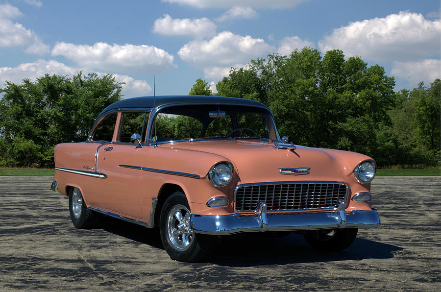 1955 Chevrolet Photograph By Tim Mccullough