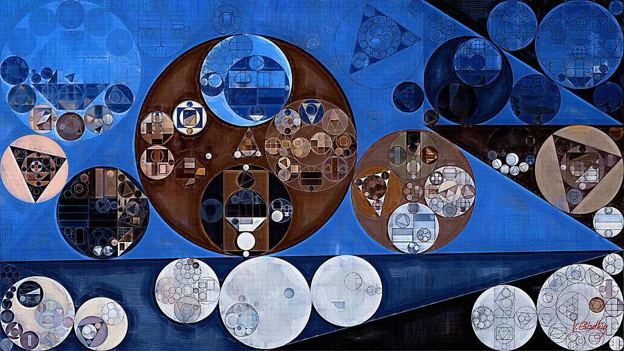 Black Russian Digital Art - Abstract Painting - Ghost by Vitaliy Gladkiy