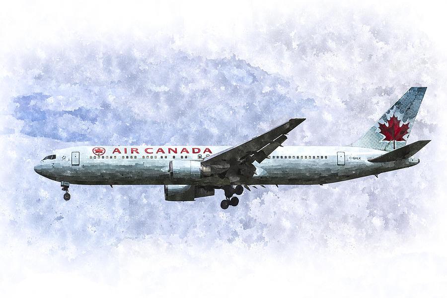 Air Canada Boeing 777 Art Photograph