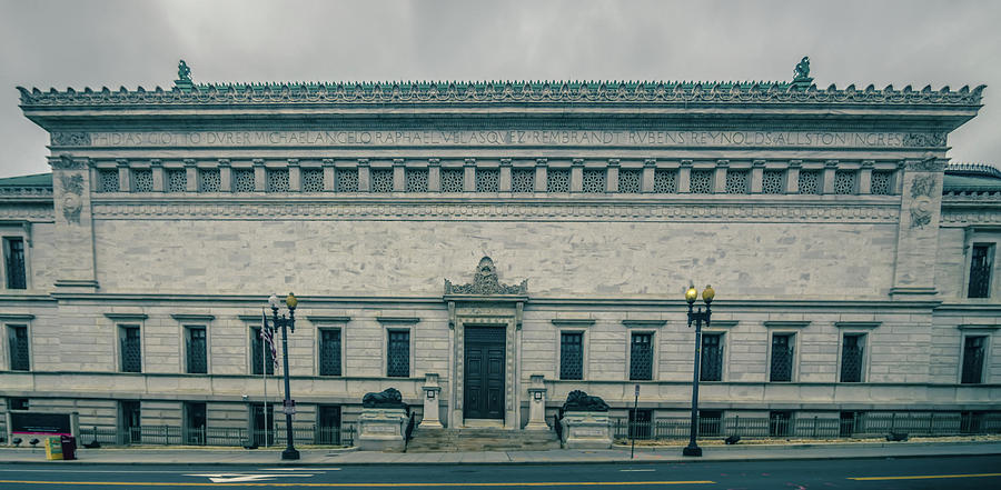 Architecture Photograph - Architecture And Buildings On Streets Of Washington Dc by Alex Grichenko