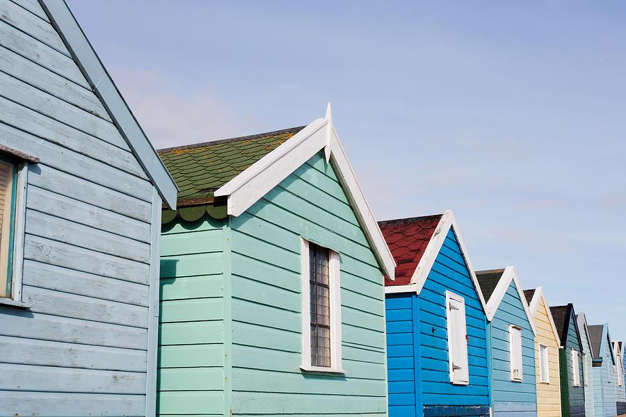 Southwold Photograph - Beach Huts by Tom Gowanlock