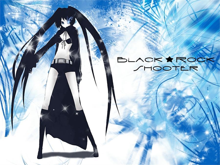 Black Rock Shooter Digital Art - Black Rock Shooter by Dorothy Binder