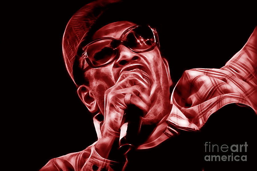 Bobby Womack Mixed Media - Bobby Womack Collection by Marvin Blaine