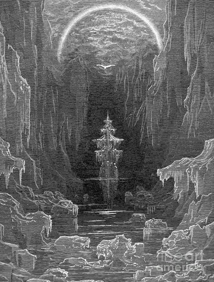 19th Century Photograph - Coleridge: Ancient Mariner by Granger