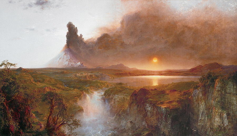 frederic edwin church texture in art
