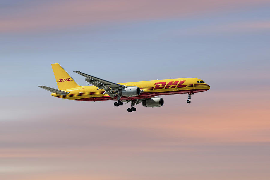 Dhl Mixed Media - Dhl Boeing 757-236 Pcf by Smart Aviation