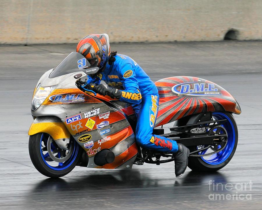 Motorcycle Photograph - Dme Terence Angela by Jack Norton