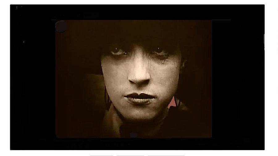 Film Homage Billy Bitzer Miriam Cooper Intolerance 1916 Screen Capture Color Added 2012 by David Lee Guss