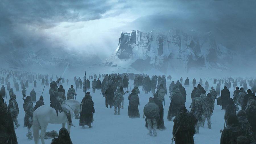 Game Of Thrones Digital Art - Game Of Thrones by Dorothy Binder