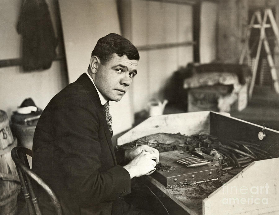 1919 Photograph - George H. Ruth (1895-1948) by Granger