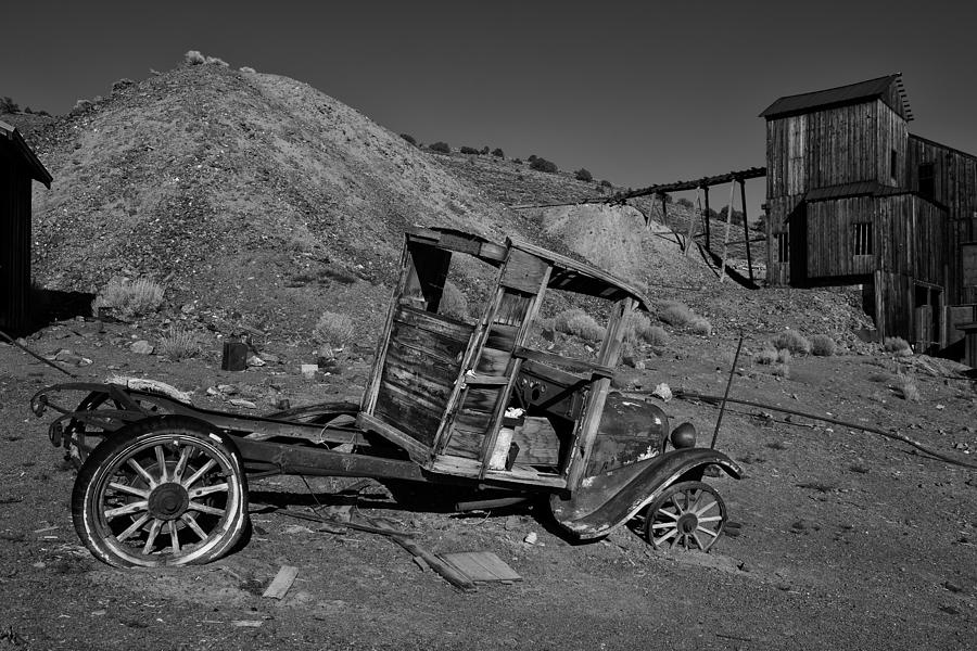 Usa Photograph - Ghost Town by Christian Heeb