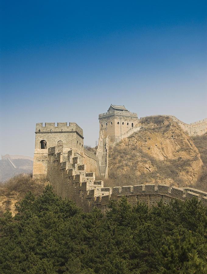 Ancient Photograph - Great Wall Of China - Jinshanling by Gloria & Richard Maschmeyer - Printscapes
