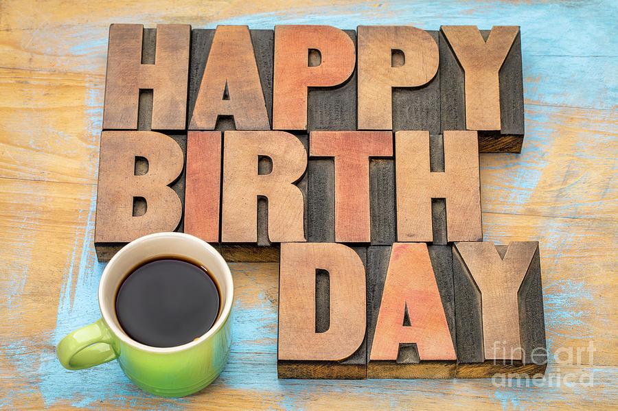 Happy Birthday greeting card by Marek Uliasz