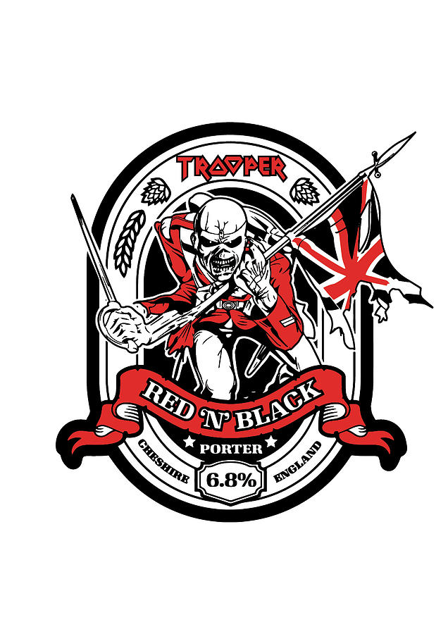 Iron Maiden Digital Art By Geek N Rock