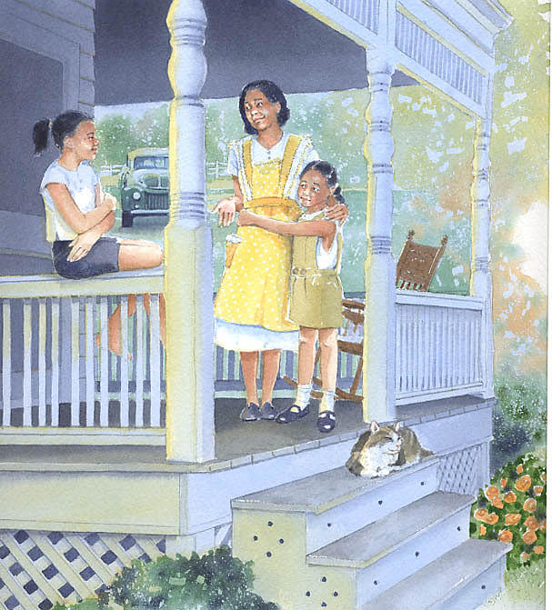 Porch Painting - Jill The Pill by Denny Bond