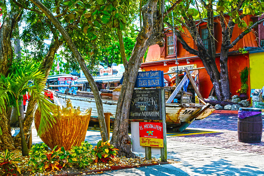 Key West Photograph - Key West Florida The Conch Republic by Lee Vanderwalker